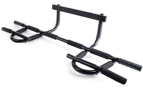 Prosource Multi Grip Chin Up Pull Up Bar Heavy Duty Doorway Trainer