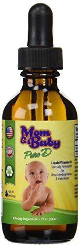 Mom Amp Baby Pure Vitamin D Best Liquid Vit D Supplement